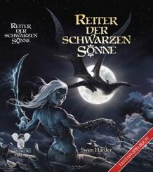 Cover mit Mondsichel auf dem Buchrücken