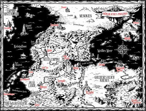 Beiliegende Karte der Special Edtion