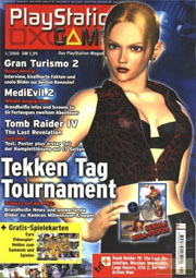 Cover PlayStation Games Januar 2000